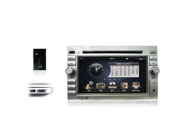蓝牙免提电话功能 最新蓝牙技术,支持手机电话薄传送到车载DVD并存储,同时支持来电信息中文显示和免提功能在驾驶中用蓝牙与手机连接进行免提通话,大大提高车内接打电话的安全性。 支持与手机无线传输音乐、视频等数据,音质清晰,可尽享天籁之音;并兼容所有型号手机。